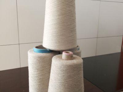 点击查看详细信息<br>标题:亚麻/棉混纺竹节纱 阅读次数:996